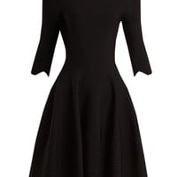 Off-the-shoulder matelassé dress | Alexander McQueen | MATCHESFASHION.COM US