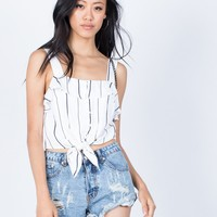 Emily Nautical Top