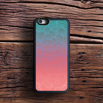 Ombre Clam Shells - Mint, Peach, Purple and Pink Case iPhone 6s Plus, iPhone 6 case, iPhone 5s 5C 4s Case, Samsung Case, iPod case, iPad Case, HTC Case, Nexus Case, LG case, Xperia case