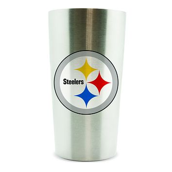 Pittsburgh Steelers Thermo Cup 14oz Stainless Steel Double Wall