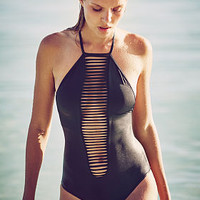 High-neck Strappy One-piece - Victoria's Secret