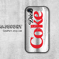 Diet Coke iPhone 4 Case, iPhone 4s Case, iPhone 4 Cover, iPhone 4s Cover, iPhone Hard Case
