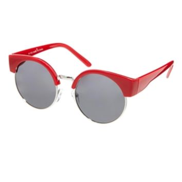 ASOS Half Kitten Cat Eye Sunglasses - Red