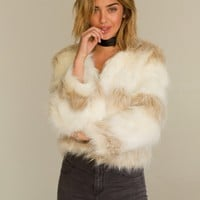 Unbothered Faux Fur Coat