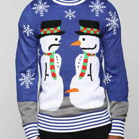 Tipsy Elves Snowman Sweater - Urban Outfitters