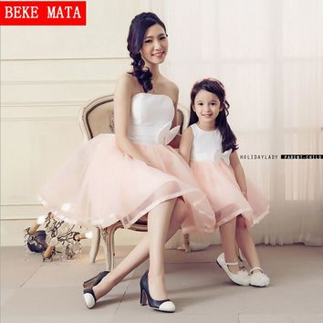 Special occasion Party Mother Daughter Matching Dresses