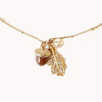 Down-to-Earth Charm Necklace