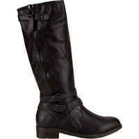 De Blossom Pita Womens Boots Black  In Sizes