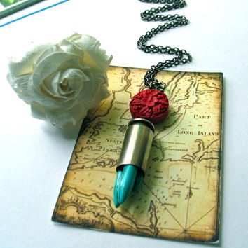 Bullet Necklace - With Spikes