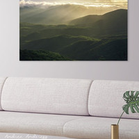 Sunrise in North Georgia Mountains 4 by Andrea Anderegg Photography