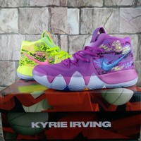 "Nike Kyrie 4 ""Multicolor"" Women Men Basketball Shoe"