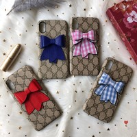 GUCCI GG Bow iPhone case