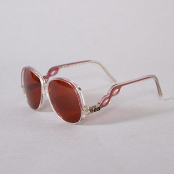 70s YSL Bohemian SUNGLASSES / 1970s Deadstock Yves Saint Laurent Sunnies