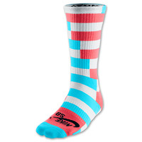 Men's Nike SB Dri-FIT Striped Skate Crew Socks