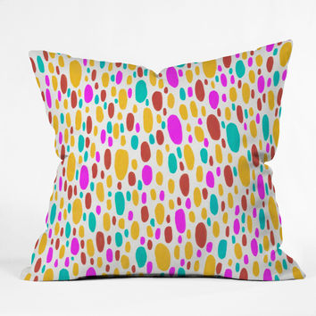Jacqueline Maldonado Paint Daubs 3 Throw Pillow