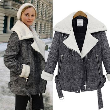 Winter Long Sleeve Stylish Jacket [45262012441]
