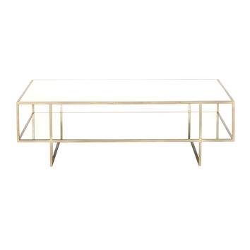 Laurent Coffee Table Brass
