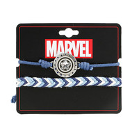 Marvel Captain America Shield Bracelet Set