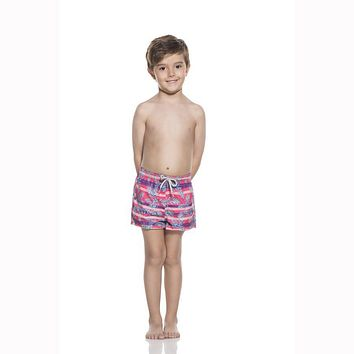 Ondademar Boys Selvatica Prints Swim Short Nicky Fit Swimwear