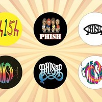 Phish Set of 6 - 1 Inch Magnets
