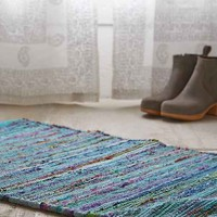 Magical Thinking Ana Overdyed Rag Rug-