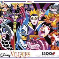 Disney 1500 pc Puzzle - Villains