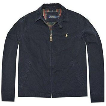 ONETOW Polo Ralph Lauren Mens Canvas Jacket