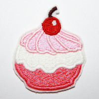 Poke Puff: Deluxe Sweet Flavor - Machine Embroidered Patch Applique