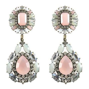 Darcy Earring-Peach Drop Earrings for Women