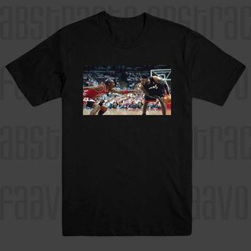 Lebron James Vs Michael Jordan Chicago Bulls Cleveland Cavs T Shirt