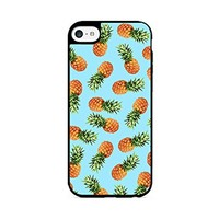 Pineapple Pattern - Tropical Pattern - Summer Pattern - Tropical Fruit Pattern - iPhone 6 Black Case (C) Andre Gift Shop