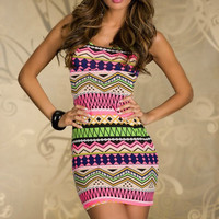 Multicolor Fashion Bag Hip Dress A 090921-898
