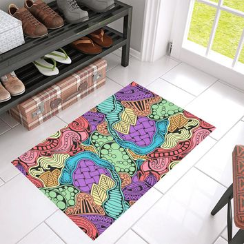 Doodle Native Zen Art Doormat