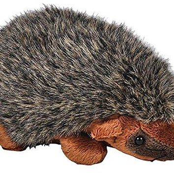 "Wildlife Tree 6.5"" Zoo Hedgehog Bean Bag Stuffed Animal Plush Floppy Animal Pounce Pal Collection"