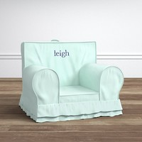 Sky Blue Ruffle Anywhere Chair®
