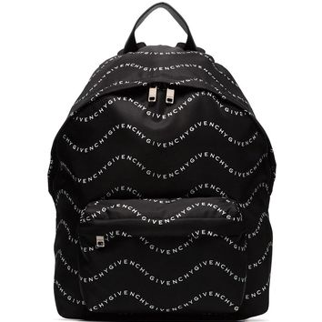 Logo Wave Backpack by Givenchy
