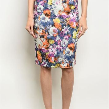 Stacy Floral Skirt
