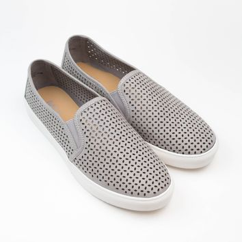 Cut Out Grey Sneakers - MIA