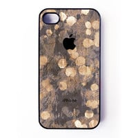 Iphone 4 Case / Iphone 4s Case  Sparkle by BasementTwentytwo