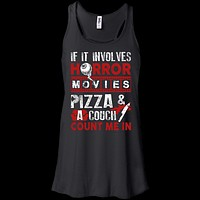 If It Involves Horror Movies, PIZZA, and a Couch Shirt