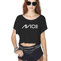 Avicii Crop Shirt , Custom Crop Shirt , Woman Crop Shirt