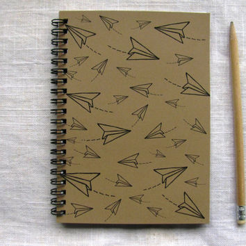 Multi Paper Airplane - 5 x 7 journal