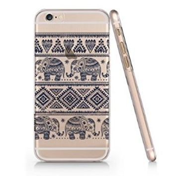 Elephant Iphone 6 case, Iphone 6 Case Slim White Cover Skin (4.7'' Screen)