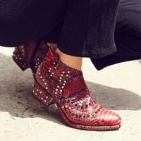 Free People Chasing Cowboys Ankle Boot