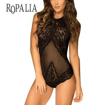 Women Sexy Lingerie Lace Dress Babydoll Underwear Girls Intimates Nightwear Sleepwear New