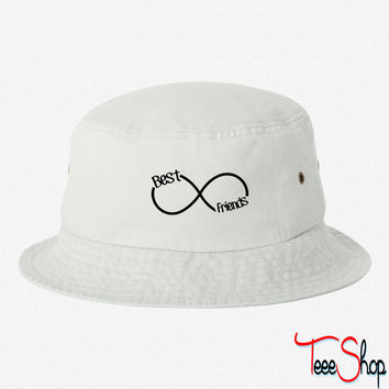 Best Friends Infinity bucket hat