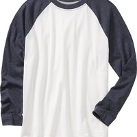 Old Navy Boys Long Sleeved Raglan Tee