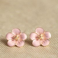 kauai island earrings in blush at ShopRuche.com