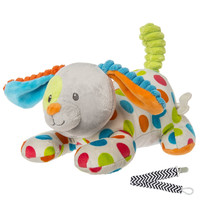 Mary Meyer 41408 Confetti Puppy Wind-up Musical Baby Toy with Pacifier Clip