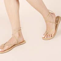 Saturday Sandal Tan ⋆ Olive & June